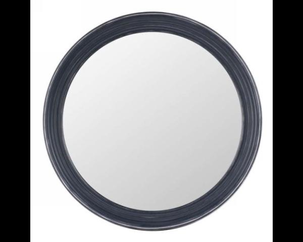 Miroir gris antique