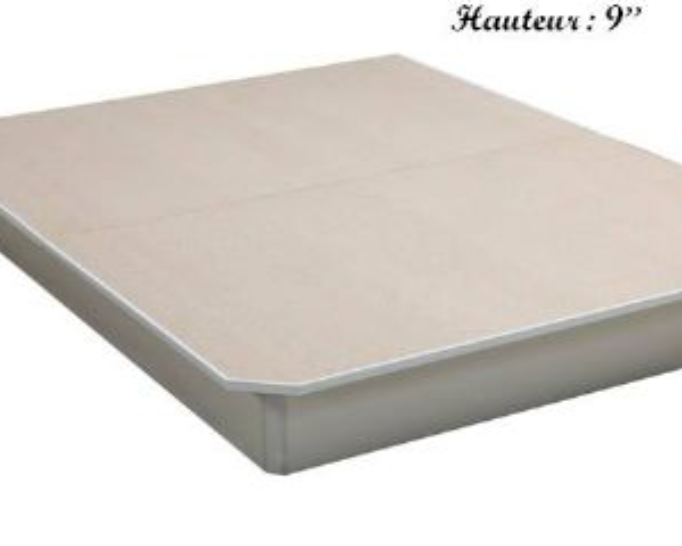 Base de lit en bois 39 ''