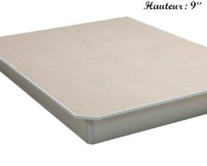 Base de lit en bois 60 ''